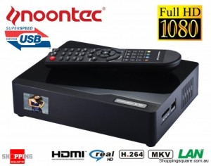 Noontec V8S MovieHome 3.5'' HDD USB 3.0 LAN Media Player 1080P HDMI
