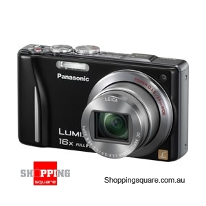 Panasonic Lumix DMC-TZ20/ZS10 Black Digital Camera