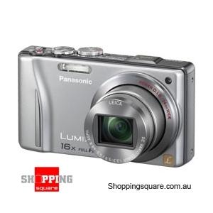 Panasonic Lumix DMC-TZ20/ZS10 Silver Digital Camera