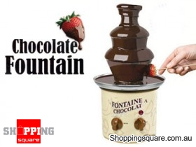 Chocolate Fondue Fountain - Stainless Steel
