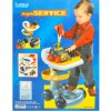 Kids Multi Tools Set With Power Drill and Work Table Trolley - Toys