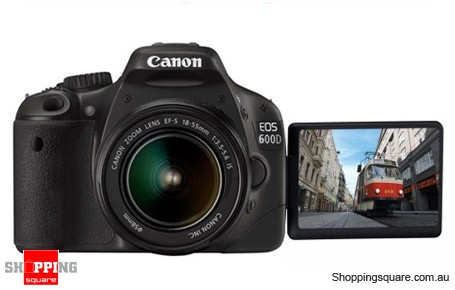 Canon EOS 600D Kit (18-55mm Lens) Digital SLR Camera