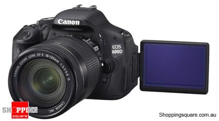 Canon EOS 600D Kit (18-135mm Lens) Digital SLR Camera