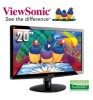 "Viewsonic VA2038WM 20"" LED Monitor - Black"