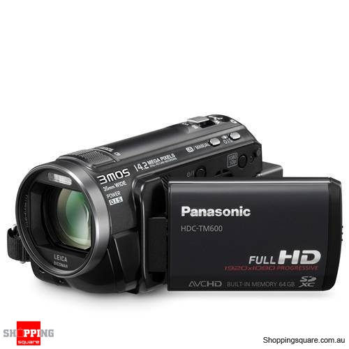Panasonic HDC-TM600 Black Digital Camcorder
