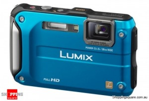 Panasonic Lumix DMC-TS3 /FT3 Blue Digital Camera