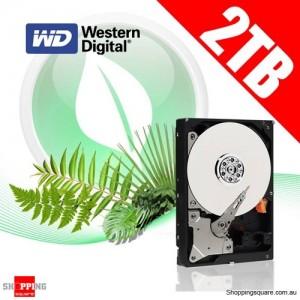 Western Digital 2TB 64M WD20EARX SATA 3 Caviar Green Hard Drive HDD