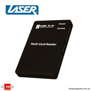 80 In 1 External Card Reader with Onboard Cable