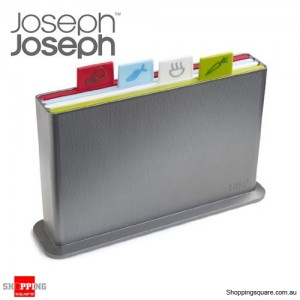 JOSEPH JOSEPH Index Advance Chopping Board - Silver