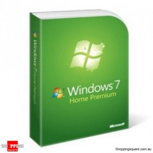 Microsoft Windows 7 Home Premium English DVD Retail Package