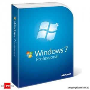 Microsoft Windows 7 Professional English DVD Retail Package