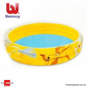 Bestway 1.52M Looneytunes Active 3-Ring Pool for Kids