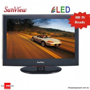Sunview 18.5 inches (47CM) LED LCD TV Built-in HD Tuner With USB Reader & PVR Function LG Panel