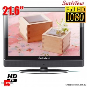 "Sunview 21.5""(55cm) Full HD LCD TV intergrated HD Tuner with HDMI"