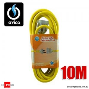 Avico 10M Heavy Duty 240V Extension Cord 10AMP