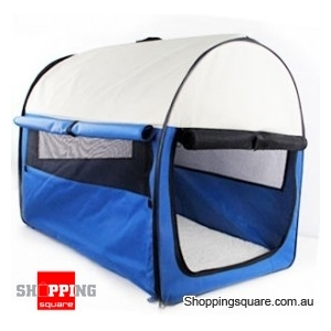 80cm Portable Pet Carrier - Foldable with Carry Bag