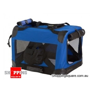 78cm Deluxe Portable Pet Carrier - Foldable
