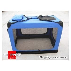 70cm Deluxe Portable Pet Carrier - Foldable