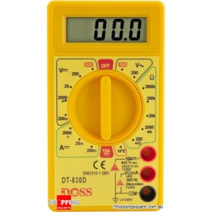 Digital Multimeter with LCD Display