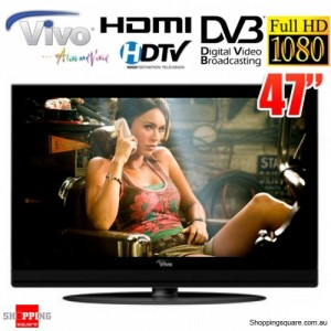 Vivo 47'' (119cm) Full HD LCD TV with Built-in HD Tuner, HDMI