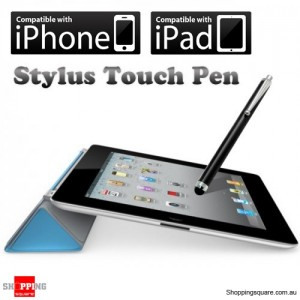 Fashion Stylus Touch Pen for iPhone 5S 5C 5 4S 4 3S 3G, iPad, Samsung, HTC - Black