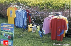 Stainless Steel Multi Purposes Foldable Wing Clothes Drying Rack