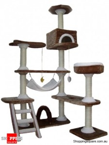 Cat Tree - 10 Levels 185cm high Cat/Kitten Gym Tree