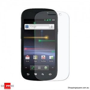 Google Nexus S by Samsung Screen Protector Clear