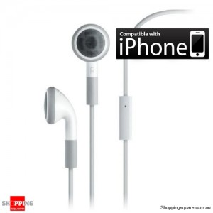 iPhone Stereo Headset with Mic 3.5mm Handsfree