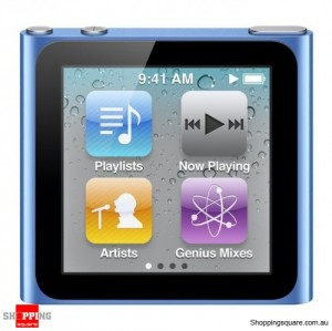 iPod Nano 6th Generation 16GB - Blue