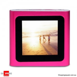 "Laser M7 4GB MP4 Player 1.5"" TFT LCD Pink with FM Radio"