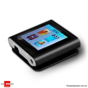 "Laser M7 4GB MP4 Player 1.5"" TFT LCD Black with FM Radio"