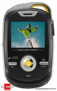 Otek 5MP High Definition Sports Pocket Video Camera - Black