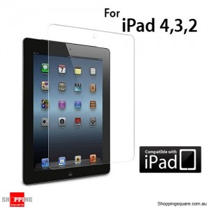 IPAD SCREEN PROTECTOR CLEAR for iPad 4th, 3th and 2nd Gen and Retina Display