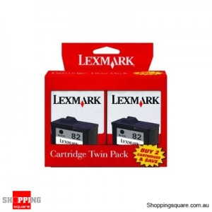 Lexmark 82 Black Twin set