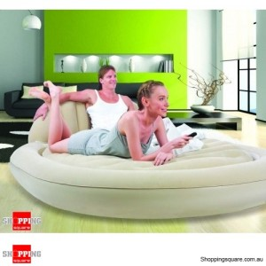 Bestway Comfort Quest Royal Round Inflatable Mattress/Air Bed