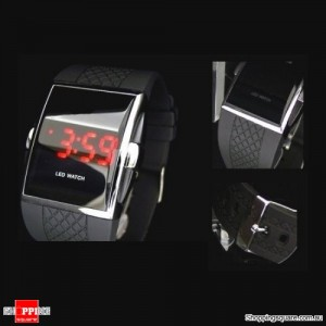 Digital LED Waterproof Sports Watch with Time and Date For Men & Women