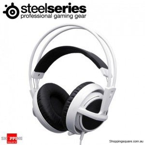 SteelSeries Siberia V2 Full Size Gaming Headset, Noise Reduction