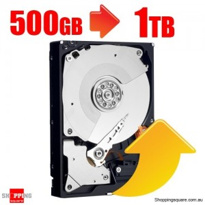 Upgrade-Internal Hard Drive from 500GB to 1TB (For Bundle 1247)