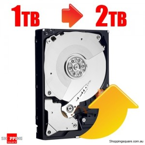 Upgrade Internal Hard Drive from 1TB to 2TB (For Bundle 1247)
