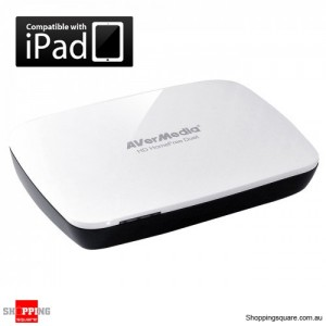 AVerMedia HD HomeFree Duet  F200 Dual DVB-T Network Tuner , Stream TV to iPad,Laptop,PC