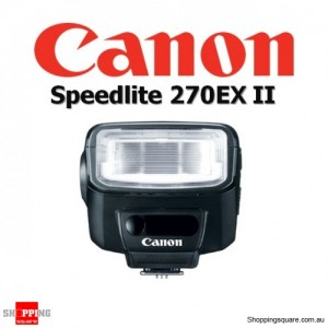 Canon Speedlite 270EX II Flash Light Shoe Mount for DSLR Digital Camera