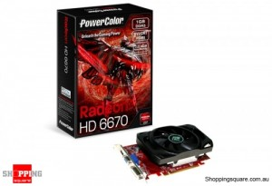 PowerColour RADEON HD6670 Video Card , HDMI