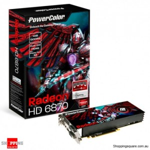 PowerColour HD6870 1GB Video Card, HDMI