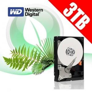 Western Digital 3TB 64M WD30EZRX SATA 3 Caviar Green Hard Drive HDD