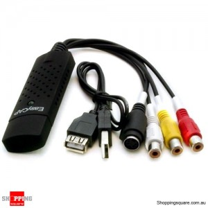 Easycap USB 2.0 Video TV DVD VHS Tape Capture Adapter