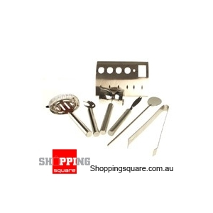 Stainless Steel 6 Pieces Bar Tool Accessory Set