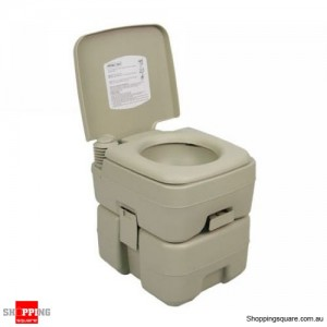20L Adult Size Portable Toilet with Flush