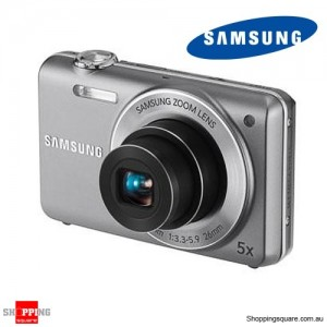 "Samsung ST93 Slim Digital Camera, 5X, 16.1M, 2.7""230KLCD, 26MM, 720p 30fps movie, Silver"