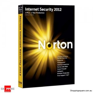 Symantec Norton Internet Security 2012 OEM 3 User